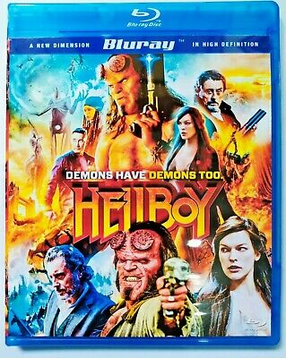 HellBoy 3 Demons Have Demons Too BLU-RAY+ Free Shipping