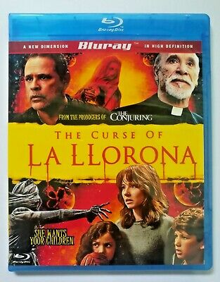 The Curse of La Llorona BLU-RAY+ Free Shipping