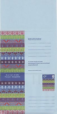 GREAT BRITAIN Air Mail Letter ~ Aerogramme 6P Christmas