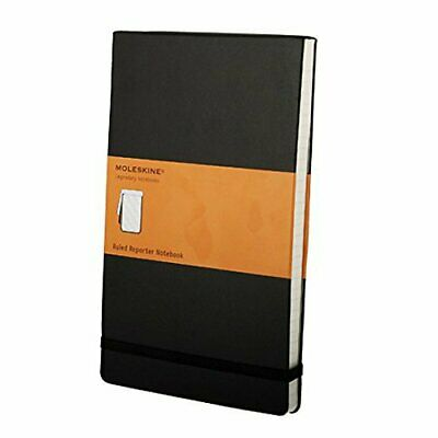 Chronicle / Hachette Book 05519 Moleskine Hard Cover Ruled Reporter Notebook ...