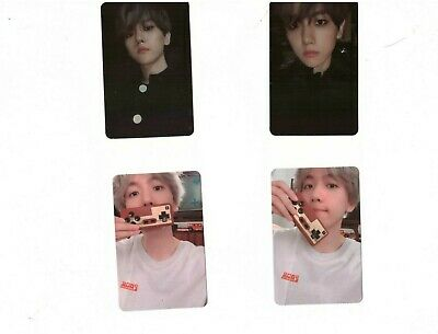 EXO BAEKHYUN 1st solo Album City Light  Day Official Photocard folded poster set