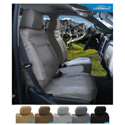 Coverking Cordura Ballistic Custom Fit Rear Seat Covers for Dodge Ram