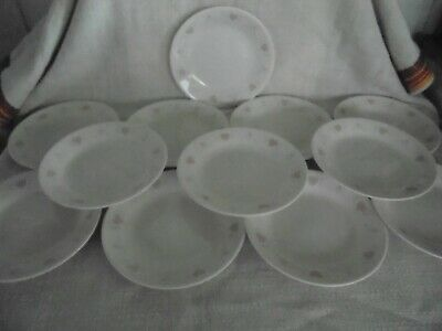 Corning Corelle Forever Yours Bread and Butter / Dessert Plates 6 3/4 -Set of 12