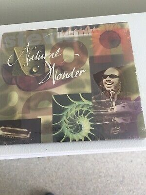 Sealed 2 CD Set Of Stevie Wonder's Natural Wonder Great Hit Tunes