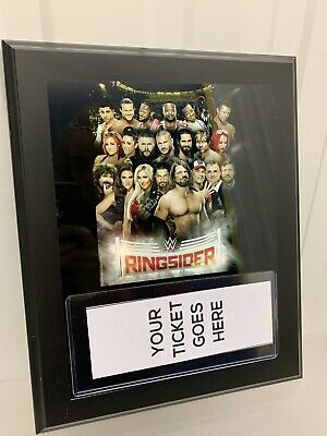 Fanatics Authentic Wall Plaque Sign Frame - WWE Wrestlers Collectible Ringsider