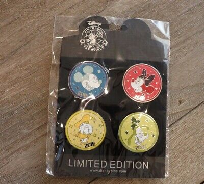 Disney Pin Trading 4 pin set Mickey Mouse Starter Set 2018 Minnie WDW
