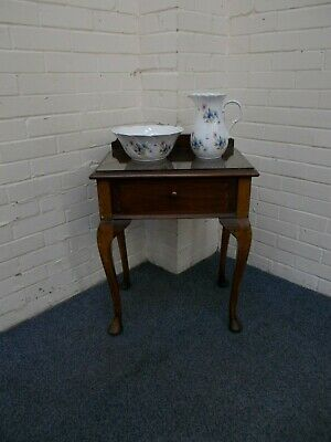 Antique Single Drawer Wash Stand