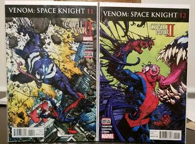 Venom: Space Knight #11 & #12(1st app of Tel-Kar host) Marvel comics VF/FN