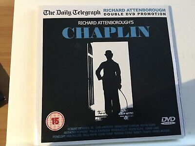 Richard Attenborough's Chaplin - Robert Downey Jr. - Telegraph Promo dvd .