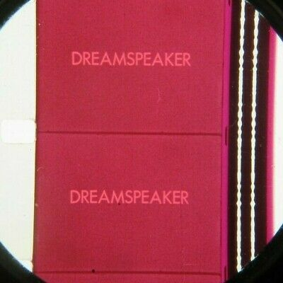 16mm DREAMSPEAKER-1979. Canadian Documentary Feature Film.