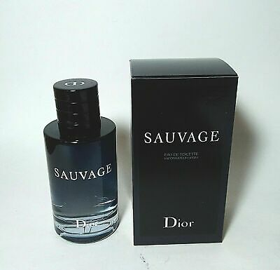 Dior Sauvage By Christian Dior EDT For Men 3.4 Oz/100 ML NEW SEALED & AUTHENTIC