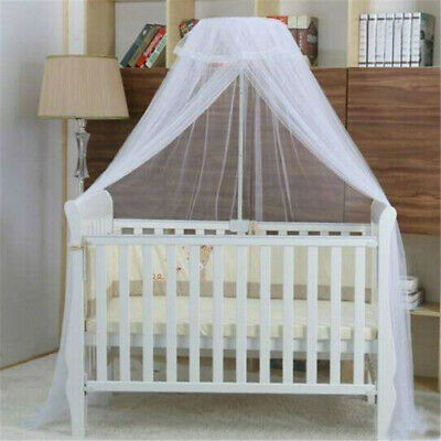 Kids Baby Summer Cot Bed Mosquito Net Curtain Canopy Dome Mesh Nursery L