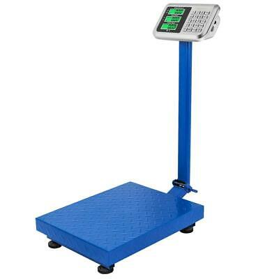 300KG Electronic Computing LCD Display Platform Scale Postal Shop Scale Weight
