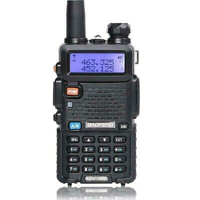 BAOFENG UV-5R VHF UHF Dual Band Two Way Ham Radio Transceiver Walkie Talkie US