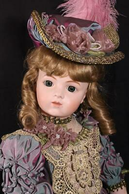 French BRU Jne Victorian Romance Doll Bisque Antique Repro Patricia Loveless