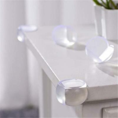 5Pcs Table Desk Corner Edge Guard Cushion Baby Safety Bumper Protector Clear L