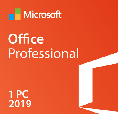 Microsoft Office Professional Plus 2019 32/64Bit License FAST DELIVERY