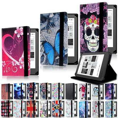"""Leather Stand Folio Cover Case For Various 6"""" 7"""" Kobo eReader Tablet"""