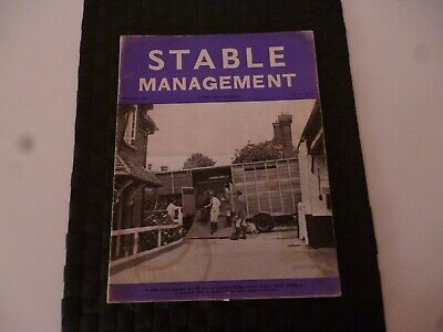 Stable Management October 1967 Horse Pony Suzanne's Riding School Harrow *Read*