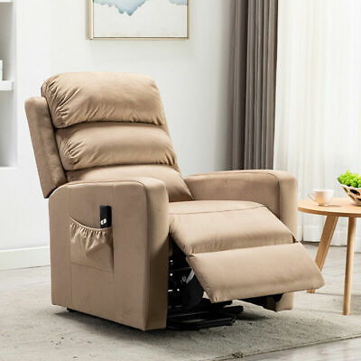 360 Swivel Recliner Glider Rocker Chair Breathable Leather Living Room Sofa