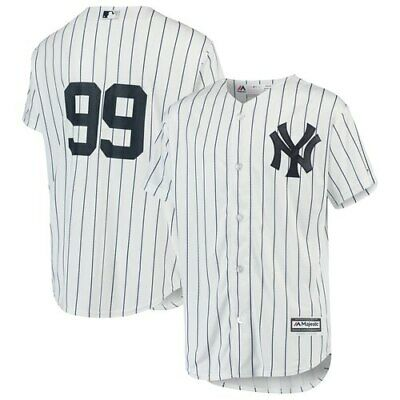 Aaron Judge New York Yankees Majestic Youth Home Official Cool Base Player