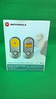Motorola Baby Monitor Digital Audio MBP16 Plus New battery