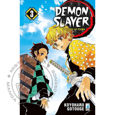 Manga - Demon Slayer - Kimetsu no Yaiba 3 - Star Comics