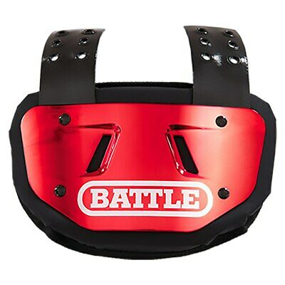Battle Chrome Adult Football Back Plate - Various Colors (NEW) Lists @ $50