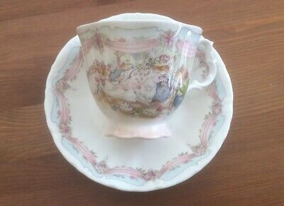 ROYAL DOULTON BRAMBLY HEDGE THE WEDDING FULL SIZE CUP & SAUCER (2nds)