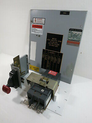 GE 8000 Series 600 Amp Main Breaker MCC Feeder Bucket 600A SGLA General Electric