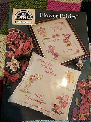 Flower Faries Pattern Book and Threads