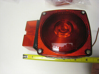 Combination Trailer Tail Light Stud Mount  High quality Bulbs included
