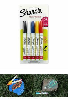 Sharpie 37371PP OilBased Paint Markers Fine Point Assorted Colors 1 Blister