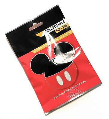 Disney Parks Mickey Character Ears Mystery 5 Pin Bag Pack Sealed - NEW