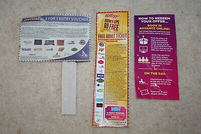 Kelloggs Free Adult Entry  & Online Code / The Sun 2 For 1 Entry
