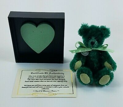 Dollhouse World of Miniature Bears Pale Green 2 1//2/""