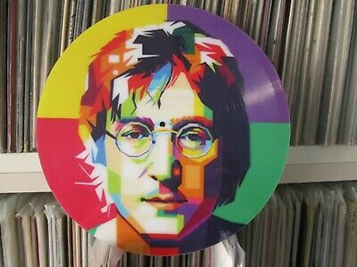 "John Lennon -Imagine (Andy Warhol) 12"" Picture Disc LP The Best Of Greatest Hits"