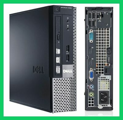 Dell Pc Usff Optiplex 9020 Intel Core I7 4790S 3.2Ghz 8Gb 240Gb Ssd Dvdrw Win10