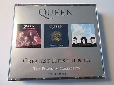 Queen ‎– Greatest Hits I II & III (The Platinum Collection) CD