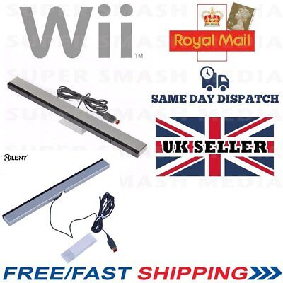 Sensor Bar For Nintendo Wii & Wii U With Stand Wired Infrared Receiver - Lw
