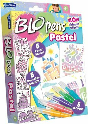 BNIB Blo Pens Glitter Studio By John Adams Art Set NEW