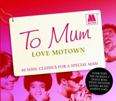 Various Artists - To Mum Love Motown (CD) (2009)
