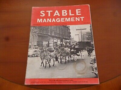 Stable Management February 1973 Gilbey Horses Oxfordshire Horse Pony *Read*