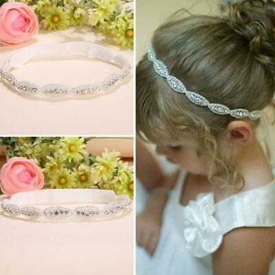 Children Baby Infant Princess Flower Girl Rhinestone Hair Band Headband T9G1 07