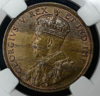 Canada 1c One Cent 1911 MS65 BN NGC bronze KM#15 1C One Year Type Choice