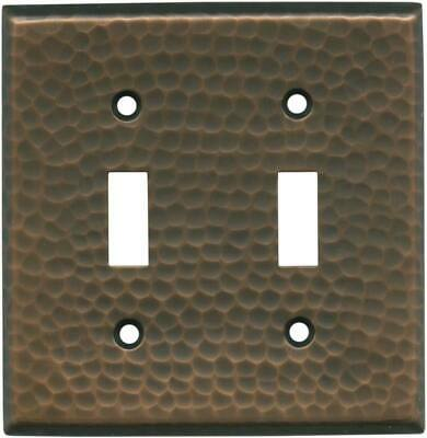 Hammered Antique Copper   Switch Plates, Wall Plates & Outlet Covers