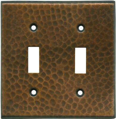Hammered in Antique Copper  Switch Plates, Wall Plates & Outlet Covers