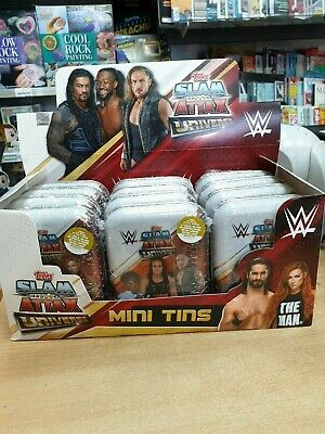 WWE Slam Attax Universe Mini Tins (35 trading cards inc limited edition)