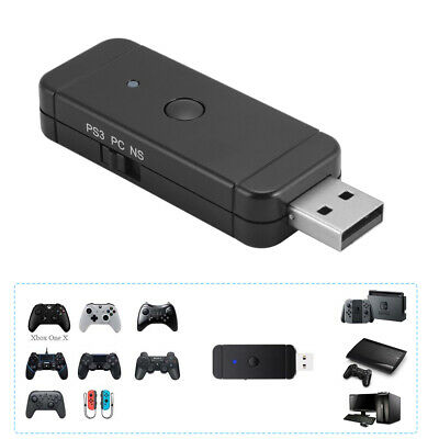 New Bluetooth Game Controller Gamepad Adapter for Nintendo Switch PS3 PC AC1241