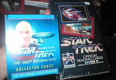 Star Trek Collector Card Sealed Boxes, Star Trek Collectors Ii, Stng Cards